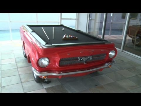 Classic Cars Turned Into Pool Tables Youtube