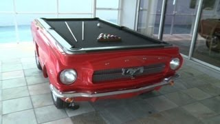 Classic Cars Turned Into Pool Tables