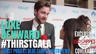Luke Benward interviewed at the 9th Annual Thirst Project Gala #ThirstGala