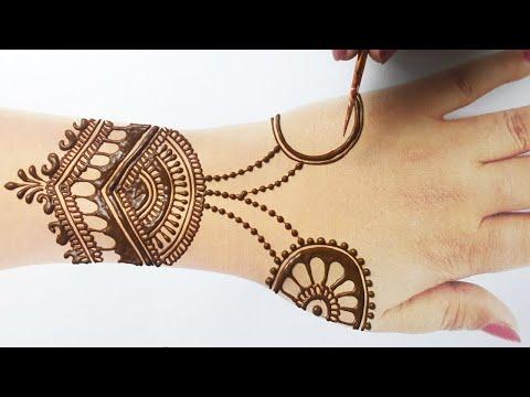 Wedding special Simple Dulhan Mehndi Design| Beautiful Simple Mehndi Designs|New Easy Stylish Mehndi