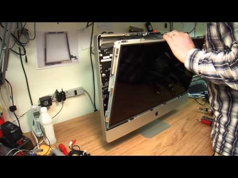 "How to disassemble 27"" Apple iMac for repair or upgrade."