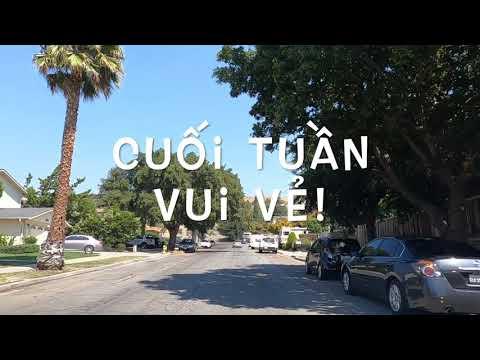 Cuộc Sống Bên Mỹ : Đường Xá Khu San Jose [Vlog #287-2020]