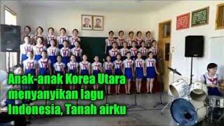 [VIDEO] MERINDING! Pelajar Korea Utara ini Nyanyian Lagu Tanah Airku