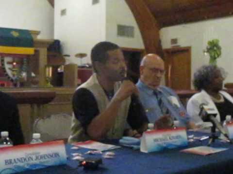District 1 political forum