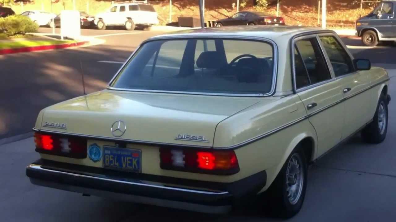 1978 mercedes 240d