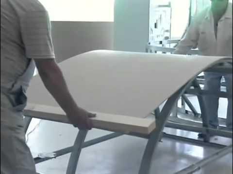 монтаж гипсокартона в ванной комнате, по дизайну. Gypsum board .