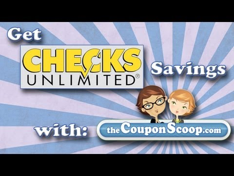 How to Save Money at Checks Unlimited: ChecksUnlimited.com Promo Codes- TheCouponScoop.com