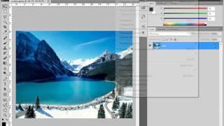 Работа с направляющими в Adobe PhotoShop CS5 (13/51)