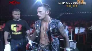 K-1 World Max Final 8 Nieky Holzken vs B...