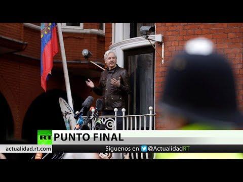 Se confirma la orden de arresto contra Julian Assange