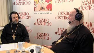 Радио «Радонеж». Протоиерей Димитрий Смирнов. Видеозапись прямого эфира от 2018.02.10