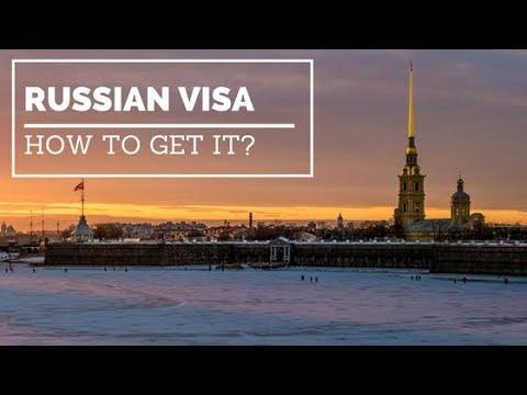 Russia Visa Process | Invitation Letter | Fees | Visa In 3 Days
