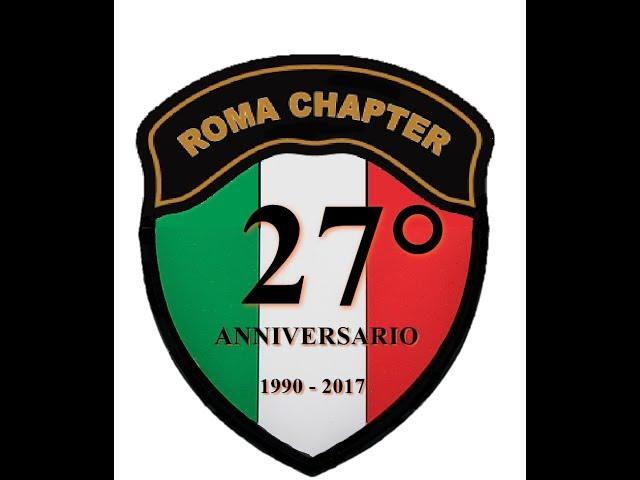 27° Anniversario Roma Chapter