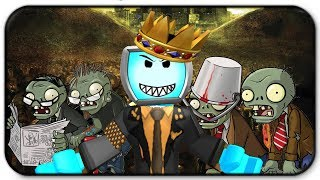 Roblox Zombie Rush - I Am The King Of The Zombie Horde