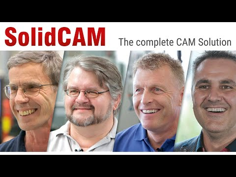SolidCAM & iMachining – The amazing CAM solution!