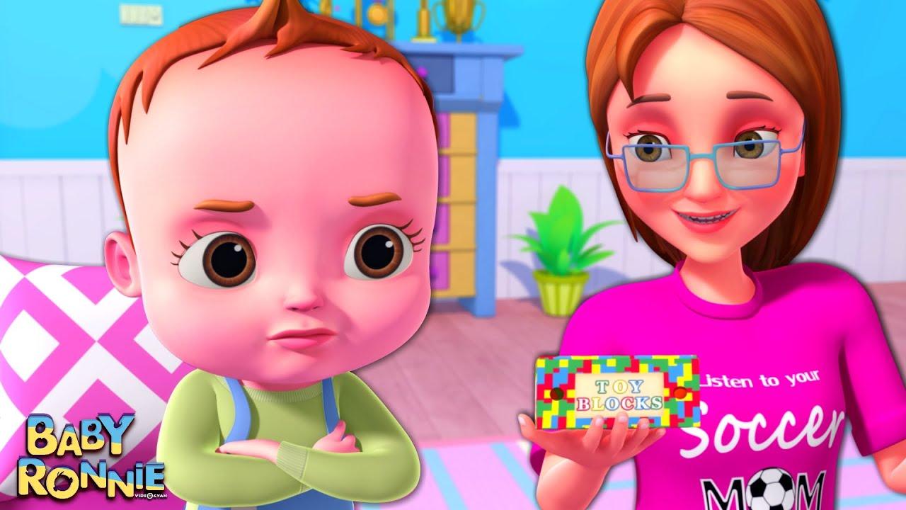 Watching TV - Nah Nah Ha Ha Song   Baby Ronnie Rhymes   Nursery Rhymes & Kids Songs