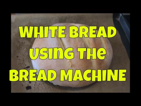 White Bread Using The Bread Machine | White Bread Recipe For Bread Machine
