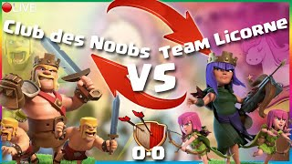 🦁 CLASH OF CLANS - 20H30, CLUB DES NOOBS VS TEAM LICORNES !! ÉPISODE 1 SPÉCIAL 900 PIRATES ABONNES