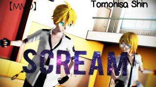 【MMD】 Scream 【Len, Rin, Lenka and Rinto】【By:Tomohisa Shin】
