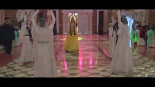 Азербайджанский танец+выход Жениха и Невесты.