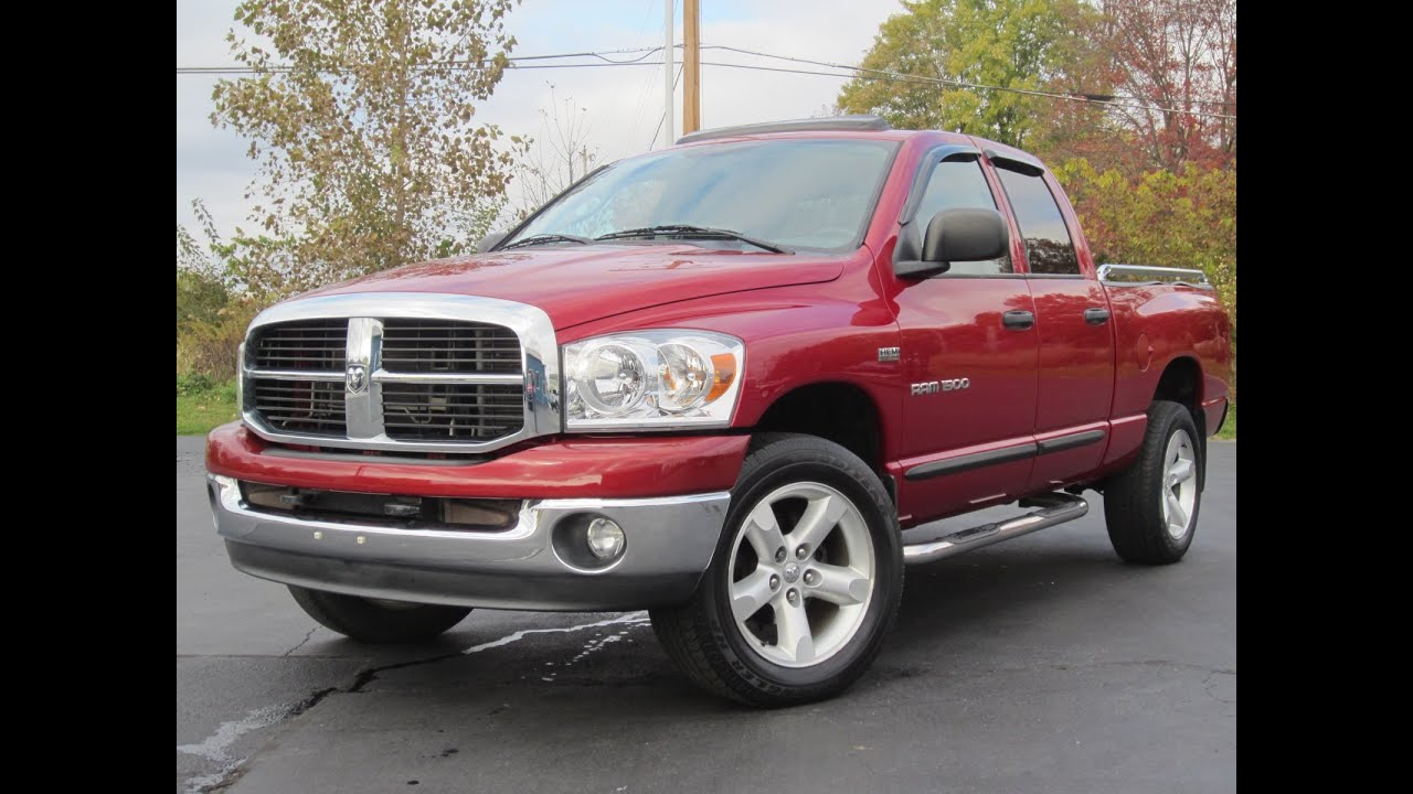 2007 dodge ram 1500 big horn 4x4 5 7l hemi sold youtube. Black Bedroom Furniture Sets. Home Design Ideas