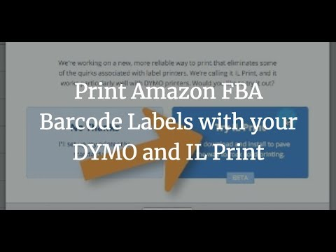 Print Your Amazon FBA Barcode Labels using ILPrint for Windows or Mac