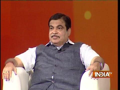IndiaTV Samvaad: Union Minister Nitin Gadkari on 2-Years of Modi Govt at India TV Conclave