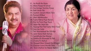 लता मंगेशकर, कुमार सानू रोमांटिक पुराने गाने - शीर्ष 20 गाने | नवीनतम बॉलीवुड हिंदी गाने 2019