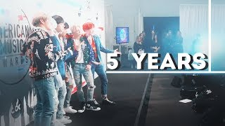 「 BTS 」 5th anniversary | 5 years together