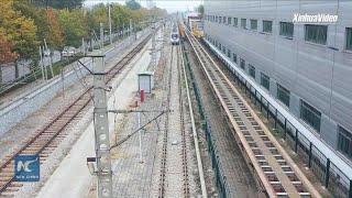 China's new driverless metro train passes tests