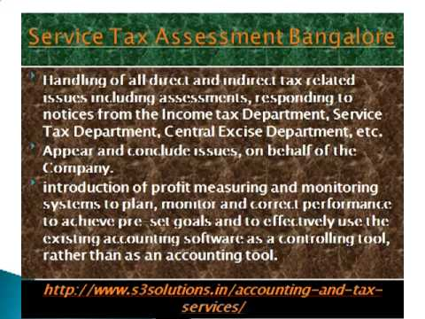 Outsourced Finance and Accounting Services Bangalore, Part time    s3solutions