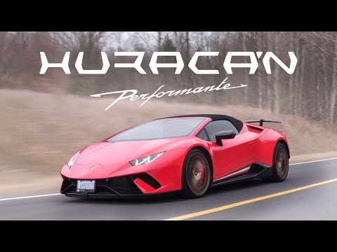 2018 Lamborghini Huracan Performante Spyder Review - Screaming V10