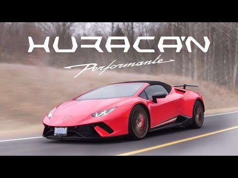 2018 Lamborghini Huracan Performante Spyder Review - Screaming V10