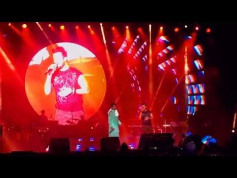 Sonu Nigam & Aatif Aslam - Klose To My Heart Concert: Singing each other's songs