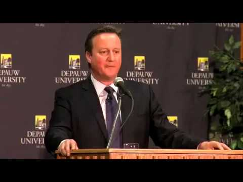 December 2016 - Terre Haute Station Covers David Cameron's DePauw University Visit