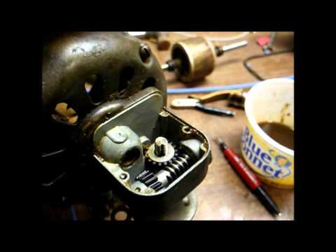 1947 48 Ge Vortalex Oscillating Fan Restoration Part