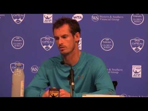 Andy Murray Gold Medal Presser  Cincinnati 2016