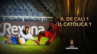 América de Cali vs Universidad Católica [1-1] | RESUMEN | Fase de Grupos | Jornada 4 | Libertadores