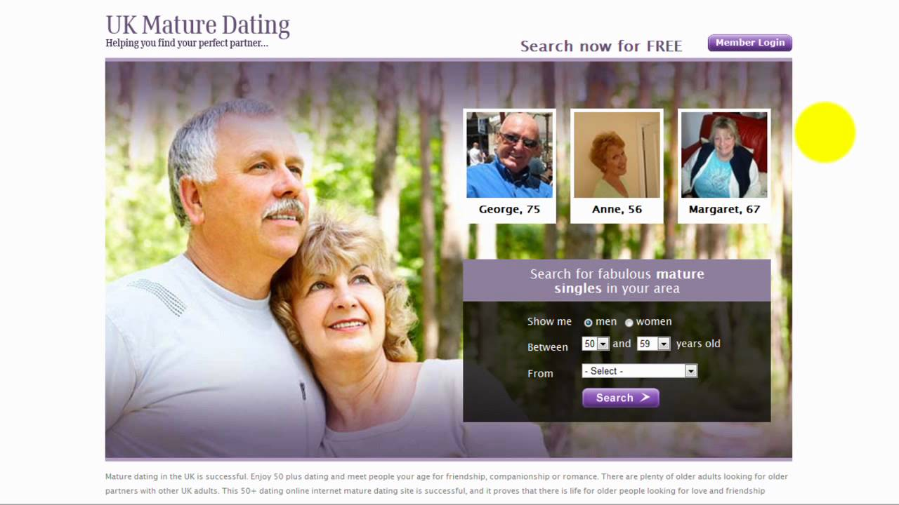 Fifty plus free dating sites