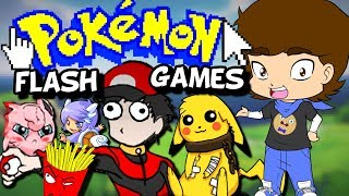 Pokemon's WEIRD Flash Games! - ConnerTheWaffle
