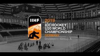 U20 WM Division I 2018: Norway vs. Belarus