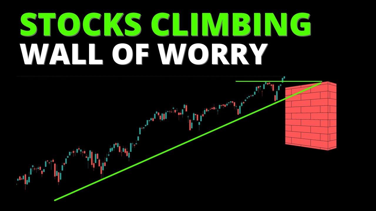 Stocks Climbing Wall of Worry - VIX Warning Sign?