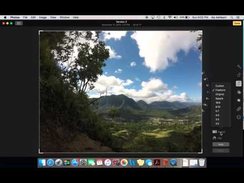 How to Edit a Photo Using A MacBook Pro