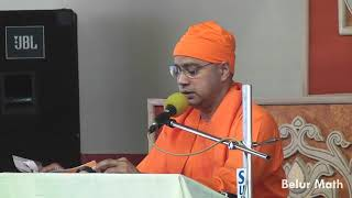Reading from Sri Sri Mayer Katha on Devotees Convention 2018 (Day 1)