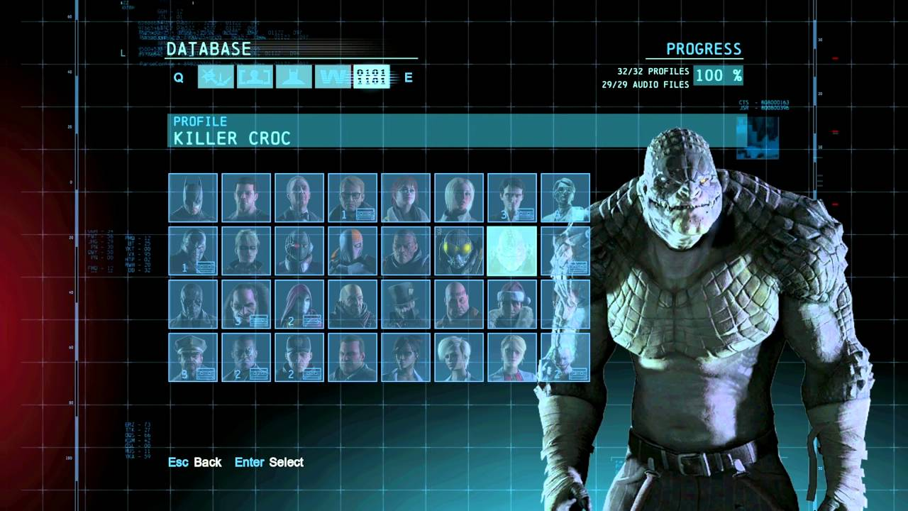 """Batman: Arkham Origins"" demonstration of All Character ..."