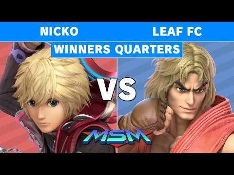 MSM 192 Demise | Nicko (Shulk) Vs Leaf FC (Ken, Captain Falcon) Winners Quarters - Smash Ultimate