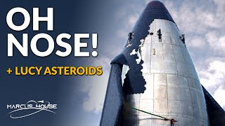 SpaceX Starship Testing Finally Kicks Off, NASA's Lucy Mission, Landsat 9, William Shatner in Zero G