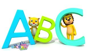 ABC Phonics Song | 3D Nursery Rhymes & Baby Songs | Cartoons for Toddlers