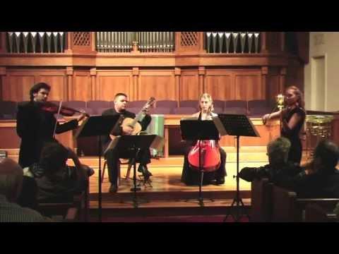 Paganini. Quartet 15 for viola, violin, cello, and guitar. I. Maestoso