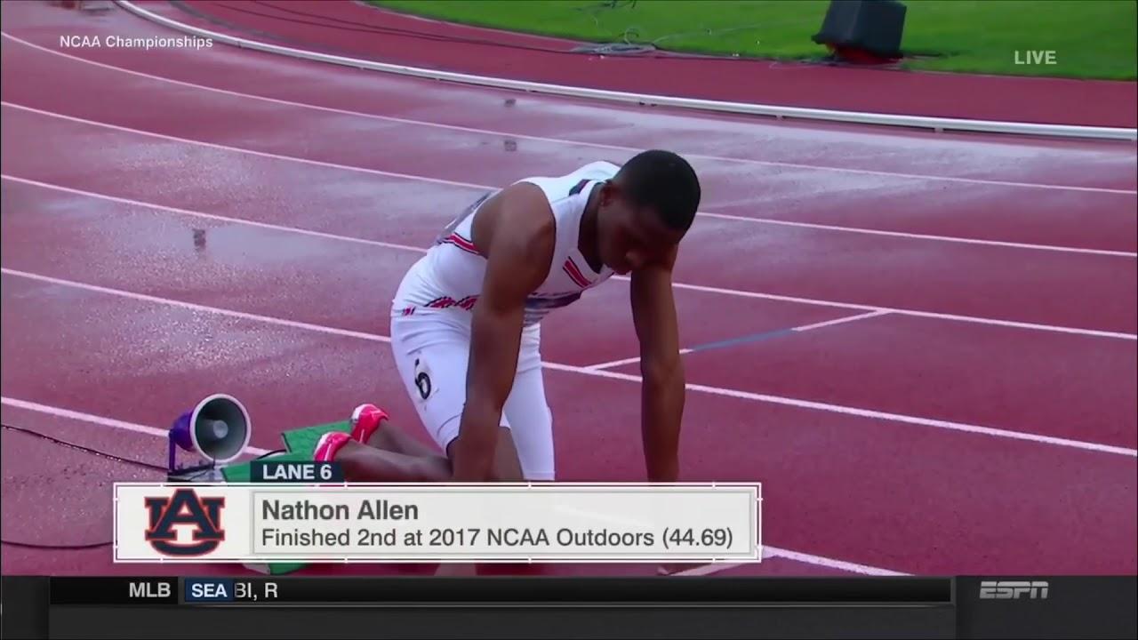 Michael Norman 43.61 - 400m (NCAA Record) 2018 NCAA Outdoor Championships